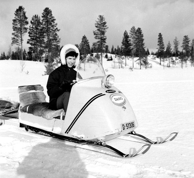 Vinterlandskap, ved Dano Pensjonat