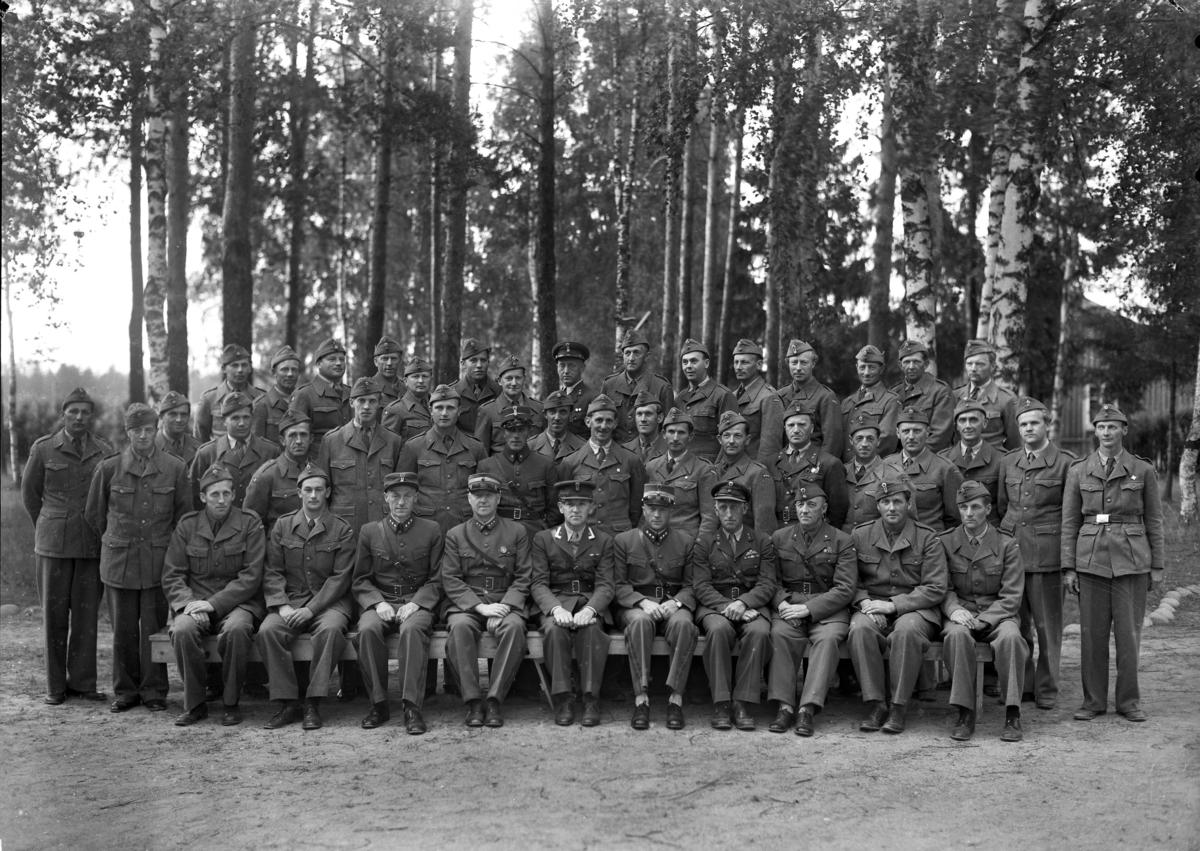 Gruppebilde-militære