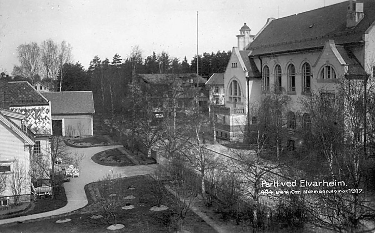 Storgata mot Elvarheim, 1917