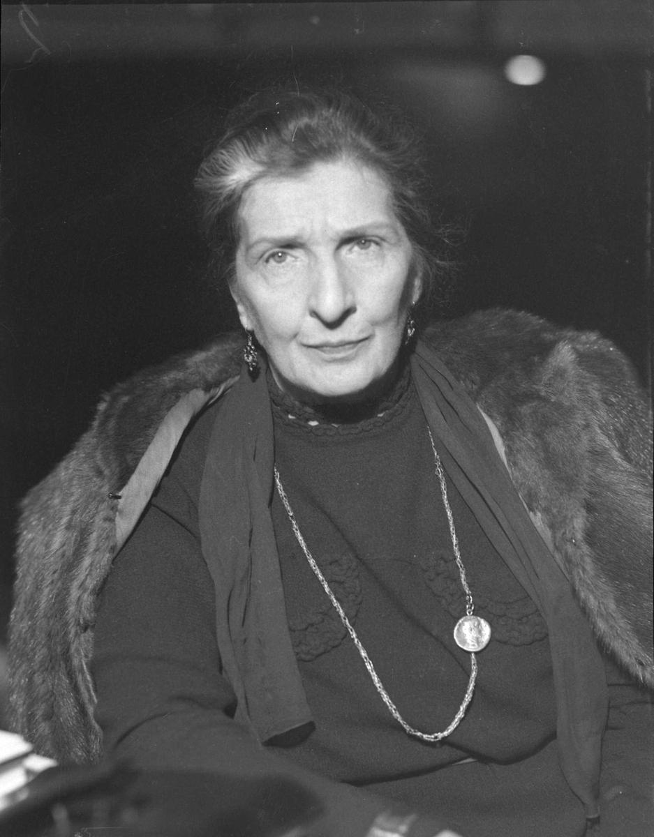 Skuespiller Agnes Mowinckel