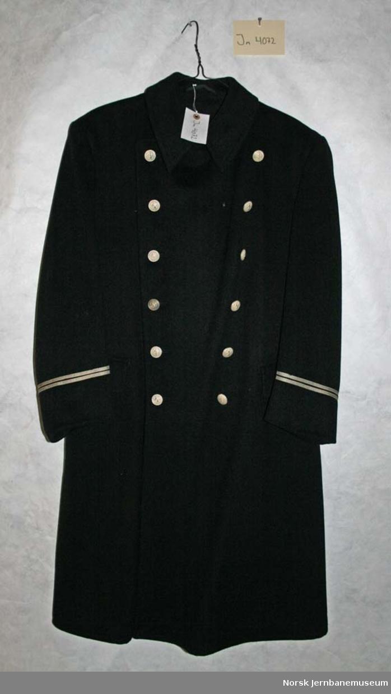 Uniformskappe for overkonduktør eller lokomotivfører