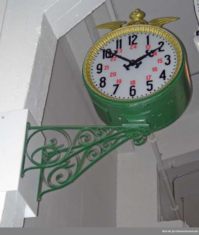 Stasjonsur med konsoll