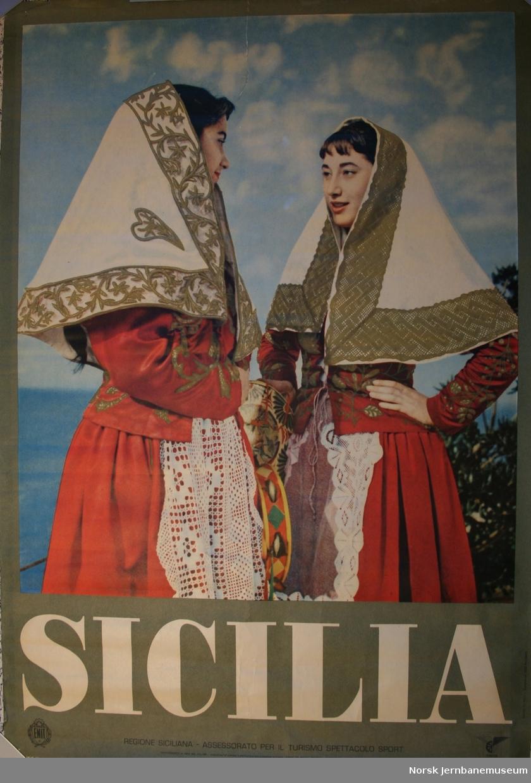 Reklameplakat: Sicilia