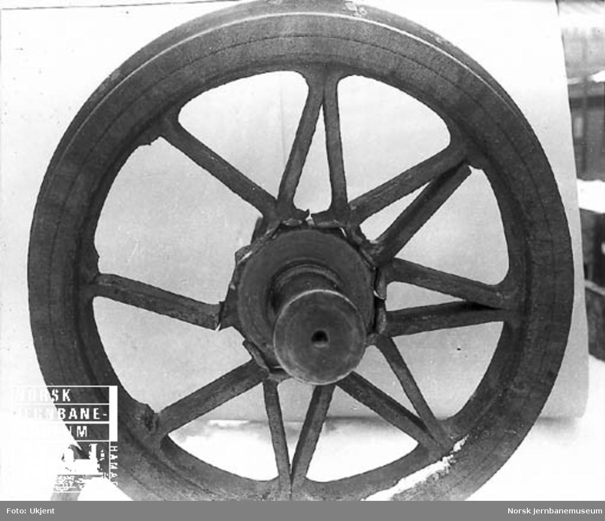 Beskadiget hjulgang