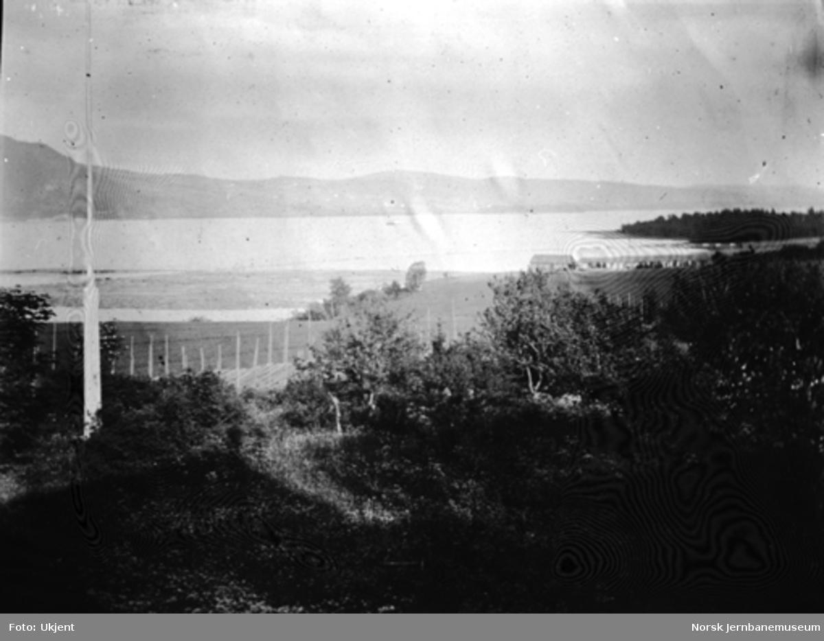 Utsikt fra Svennes i Biri mot Ringsaker