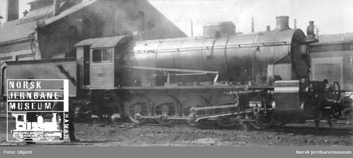 Damplokomotiv type 29a nr. 308