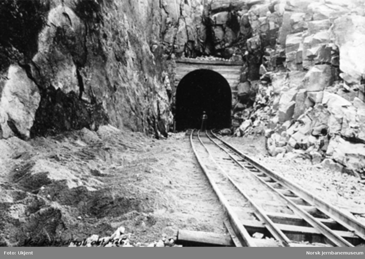 Sporlegging ved Røsfjell tunnel