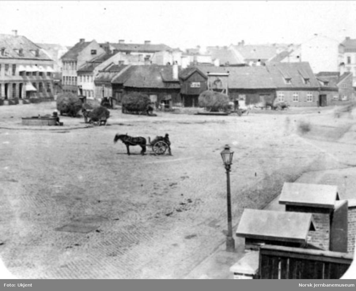 Jernbanetorget i Christiania