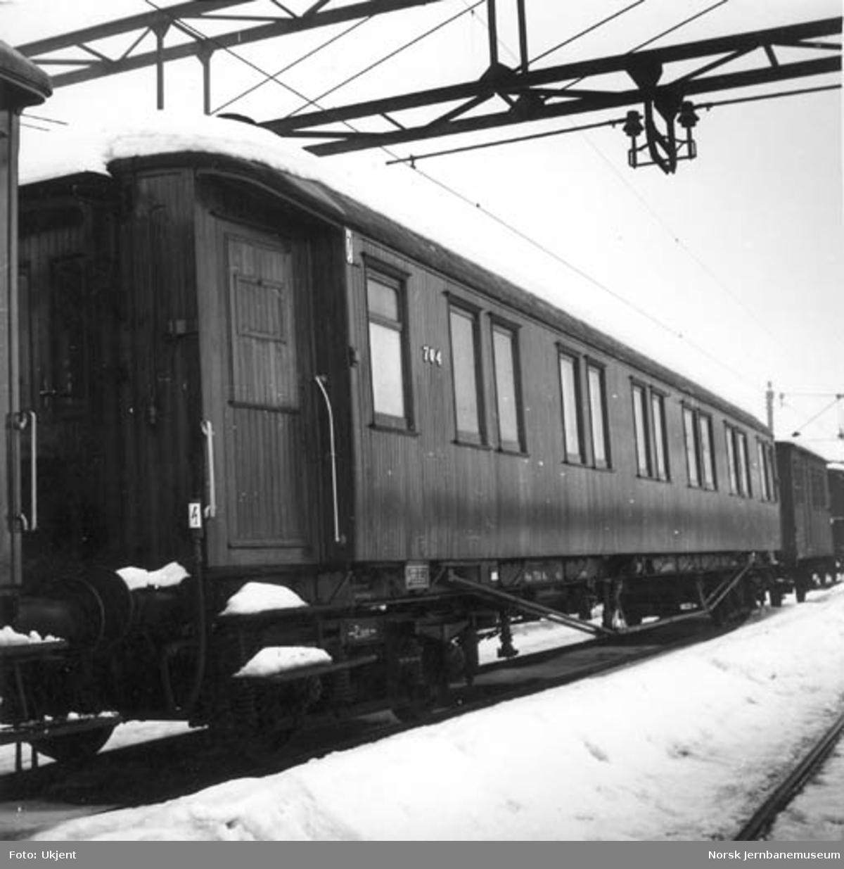 NSB salongvogn litra Ao nr. 704