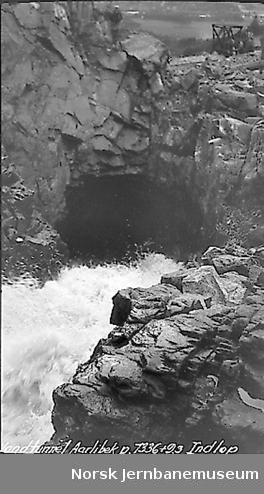 Vanntunnel for Årlibekk, innløp