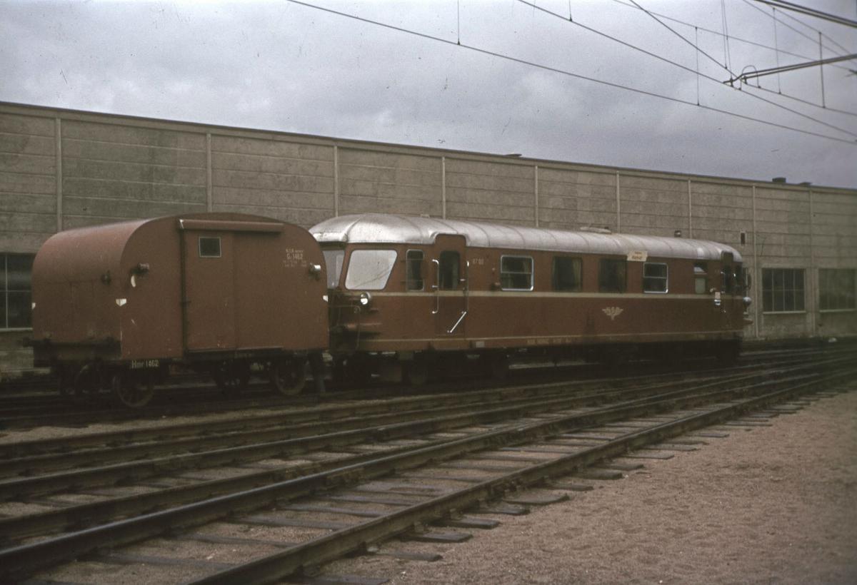 Tog til Rørosbanen på Hamar stasjon.