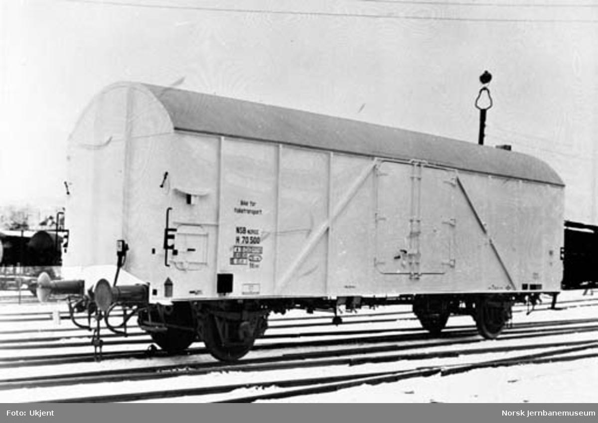 NSB kjøle- og varmevogn litra H nr. 75000