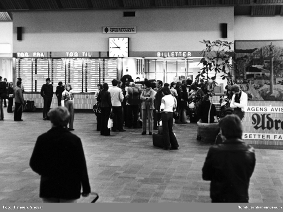 Ekspedisjonshallen på Trondheim stasjon