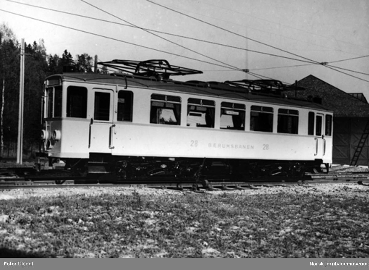 Bærumsbanens motorvogn nr. 28