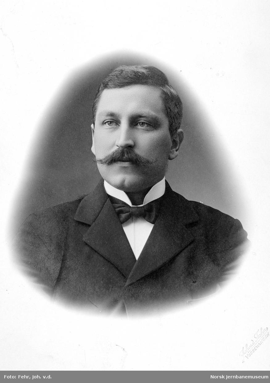 Portrett av ingeniør Harald Poppe