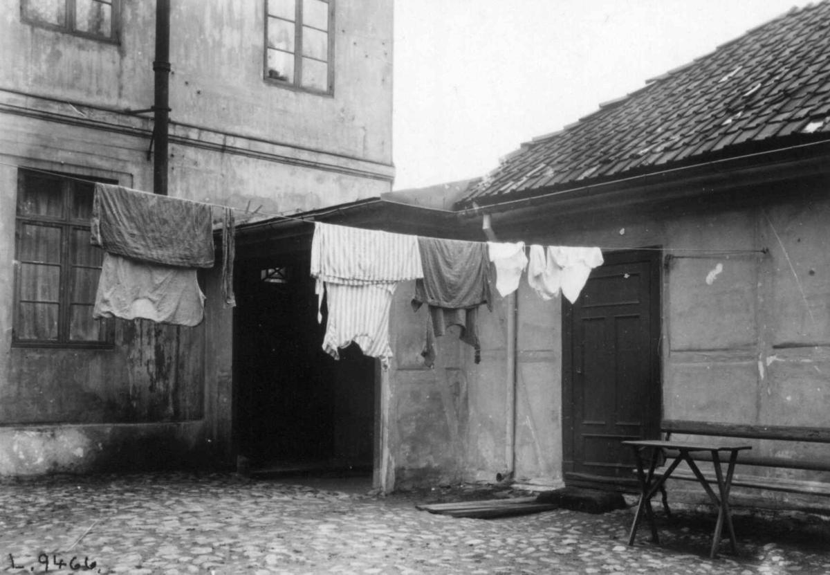 Bervens Løkke, Observatoriegata 2, Oslo 1924. Gårdsrom.