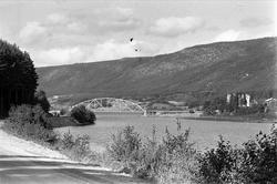 Kværnesodden bru i Ytre Rendalen 02.09.1961.