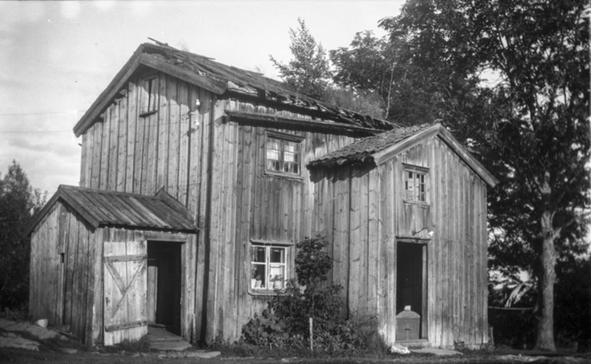 Huset Klokkerenga. Står på Bygdetunet i Eidsvoll.