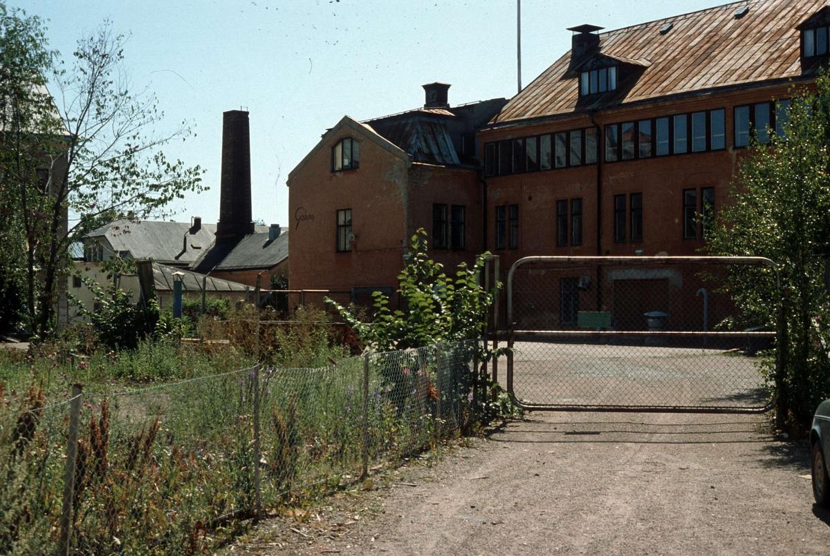 Henriks Gahns AB, kvarteret Gudrun, Uppsala 1980 - 1985