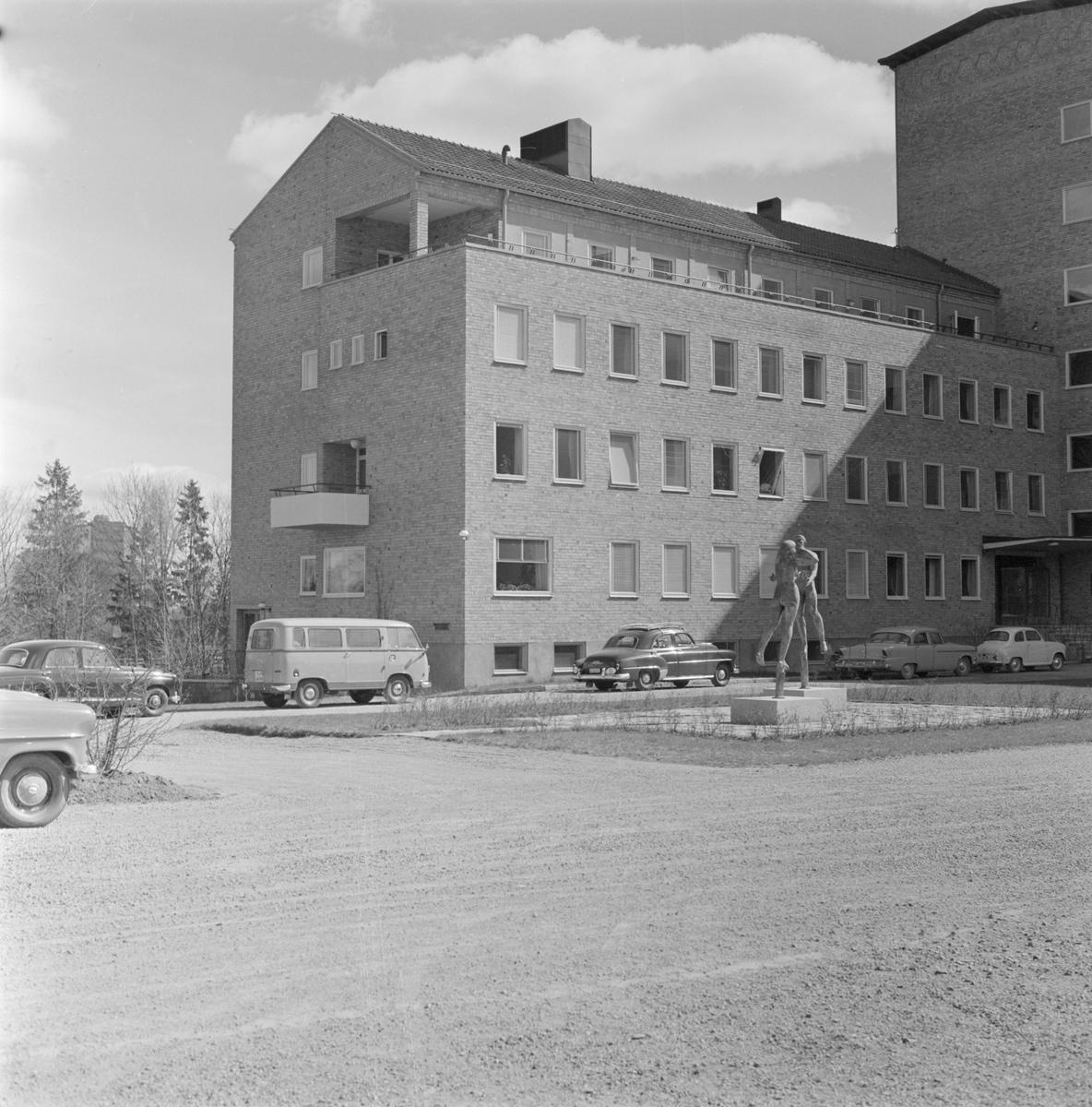 Akademiska sjukhuset, öron- och psykavdelning, Uppsala 1958