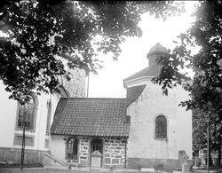 Bromma kyrka, Bromma socken, Uppland i augusti 1916