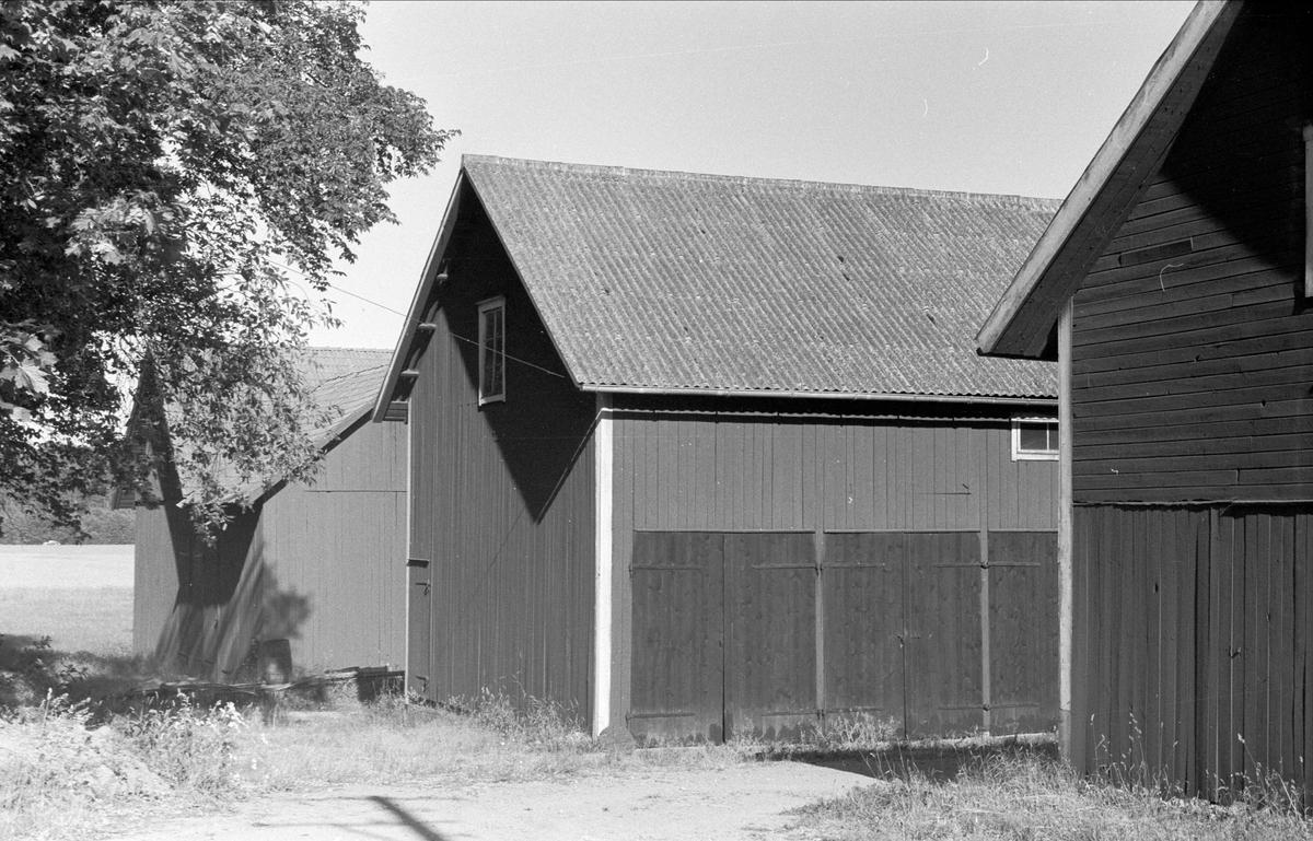Lada och magasin, Högsta 1:6, Bälinge socken, Uppland 1976