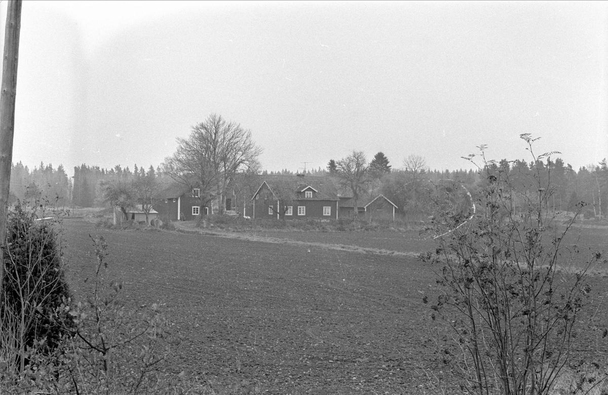 Vy över Fullerö 16:4, Gamla Uppsala socken, Uppland 1978