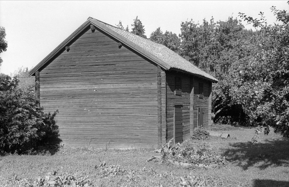 Magasin, Bälinge prästgård, Bälinge socken, Uppland 1983