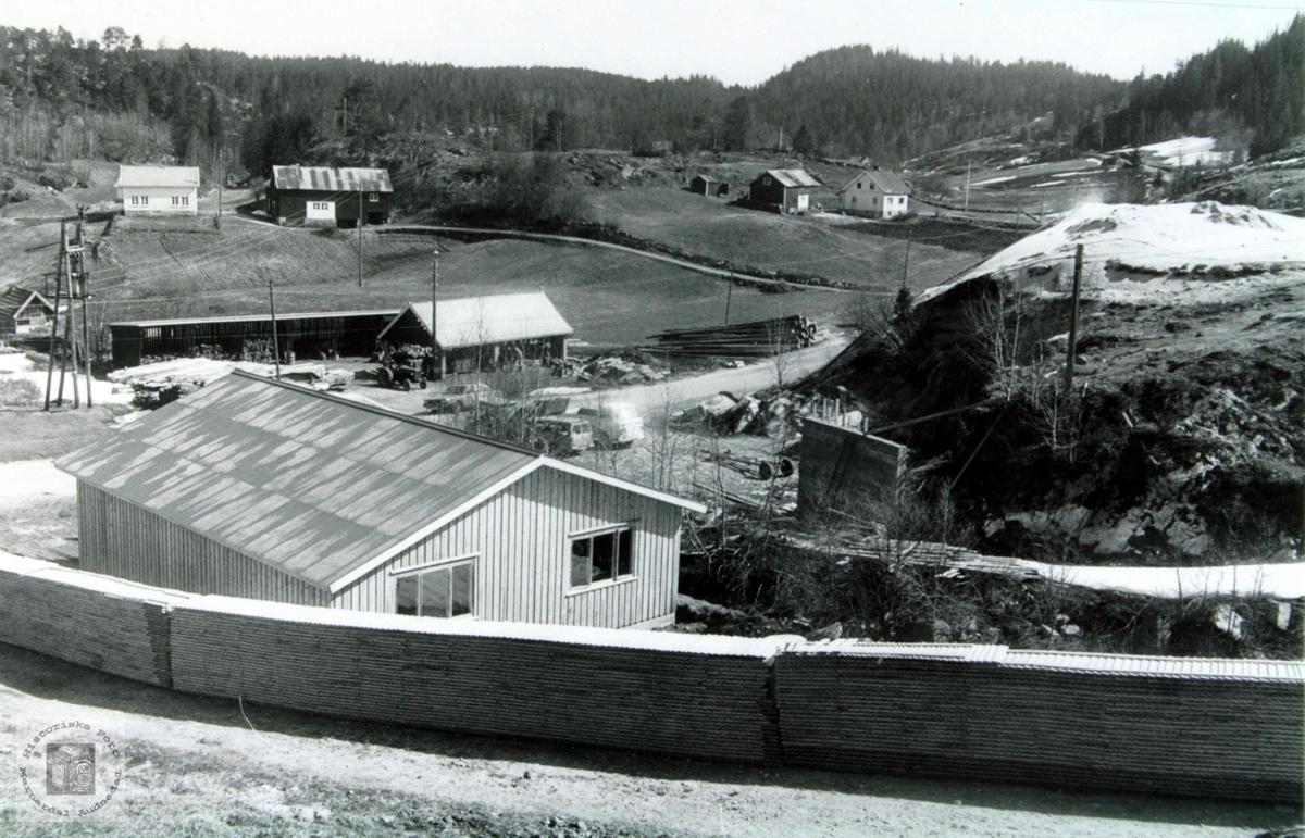 Sagbruket på Leland i Selandsdalen, Grindheim.