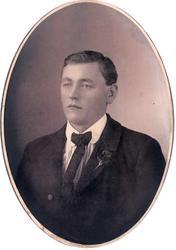Portrett av Torjus Solberg i Bjelland.