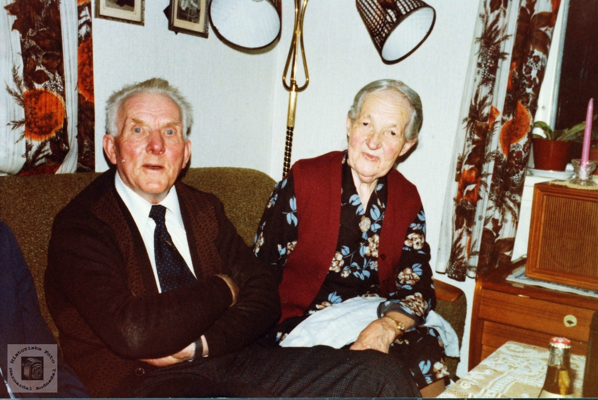 Ekteparet Rolf og Maria Ås i Grindheim.
