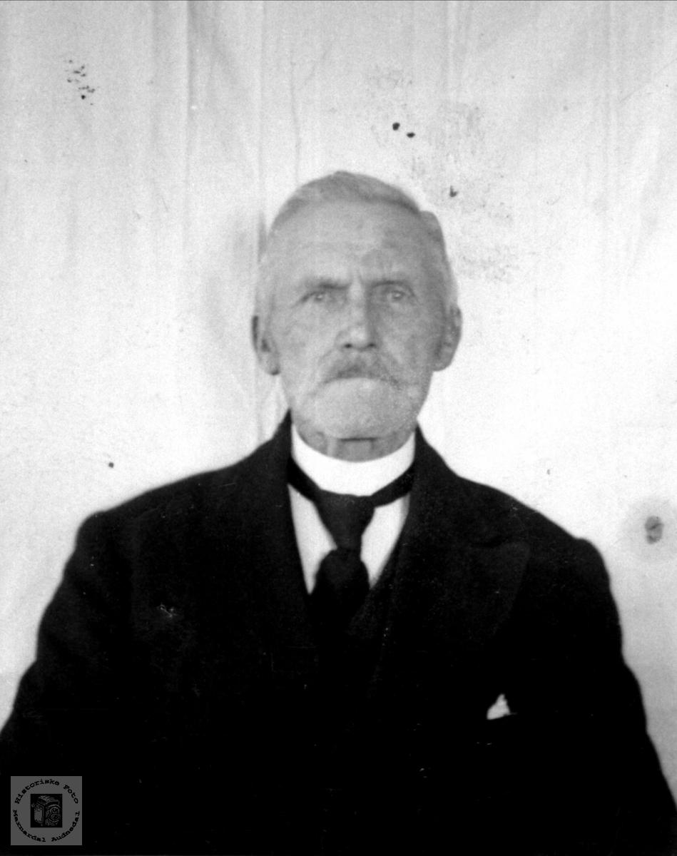 Portrett av Salve Knudson Rosseland, Bjelland.