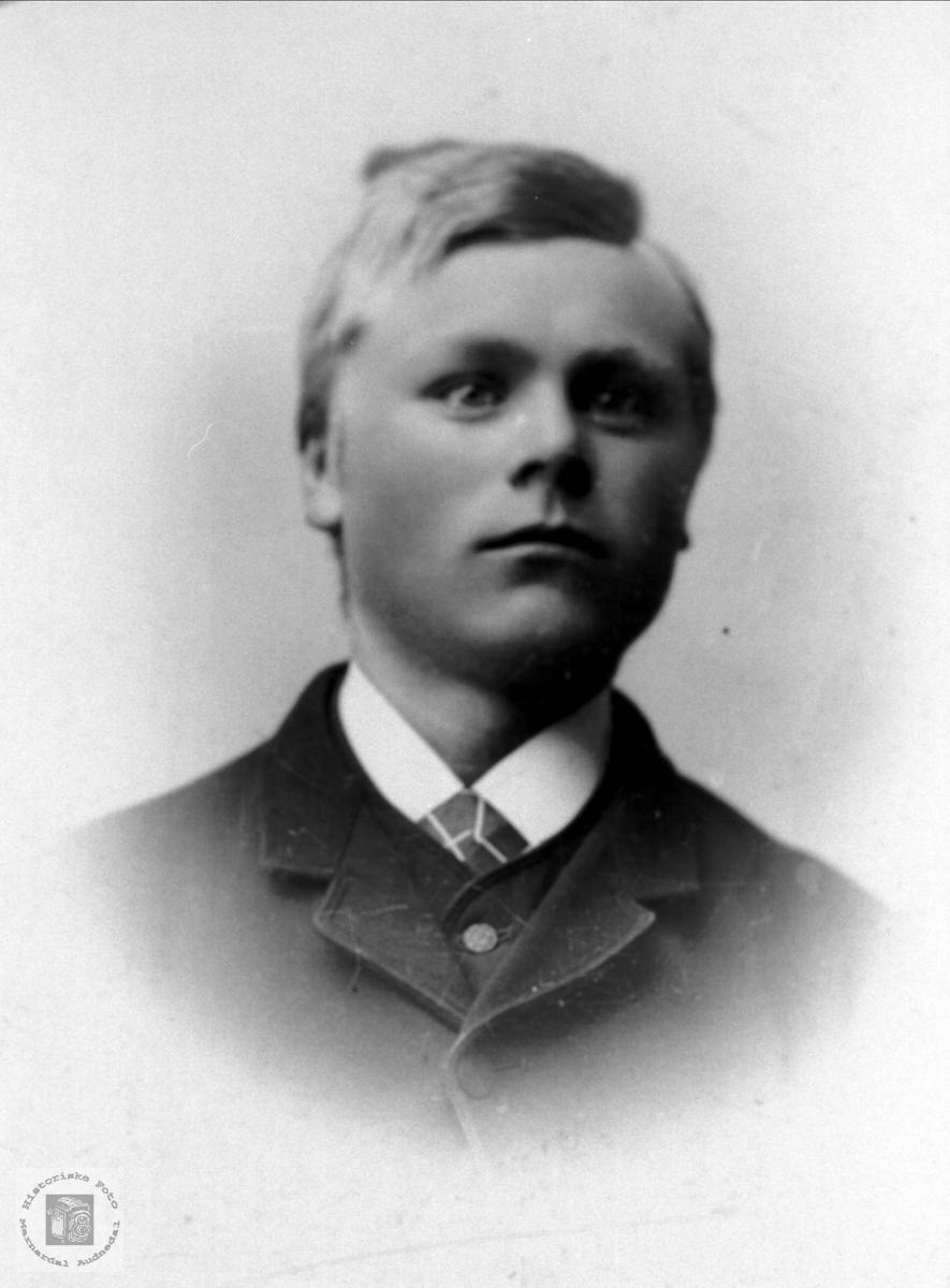 Portrett av Nils B. Ask, Bjelland.