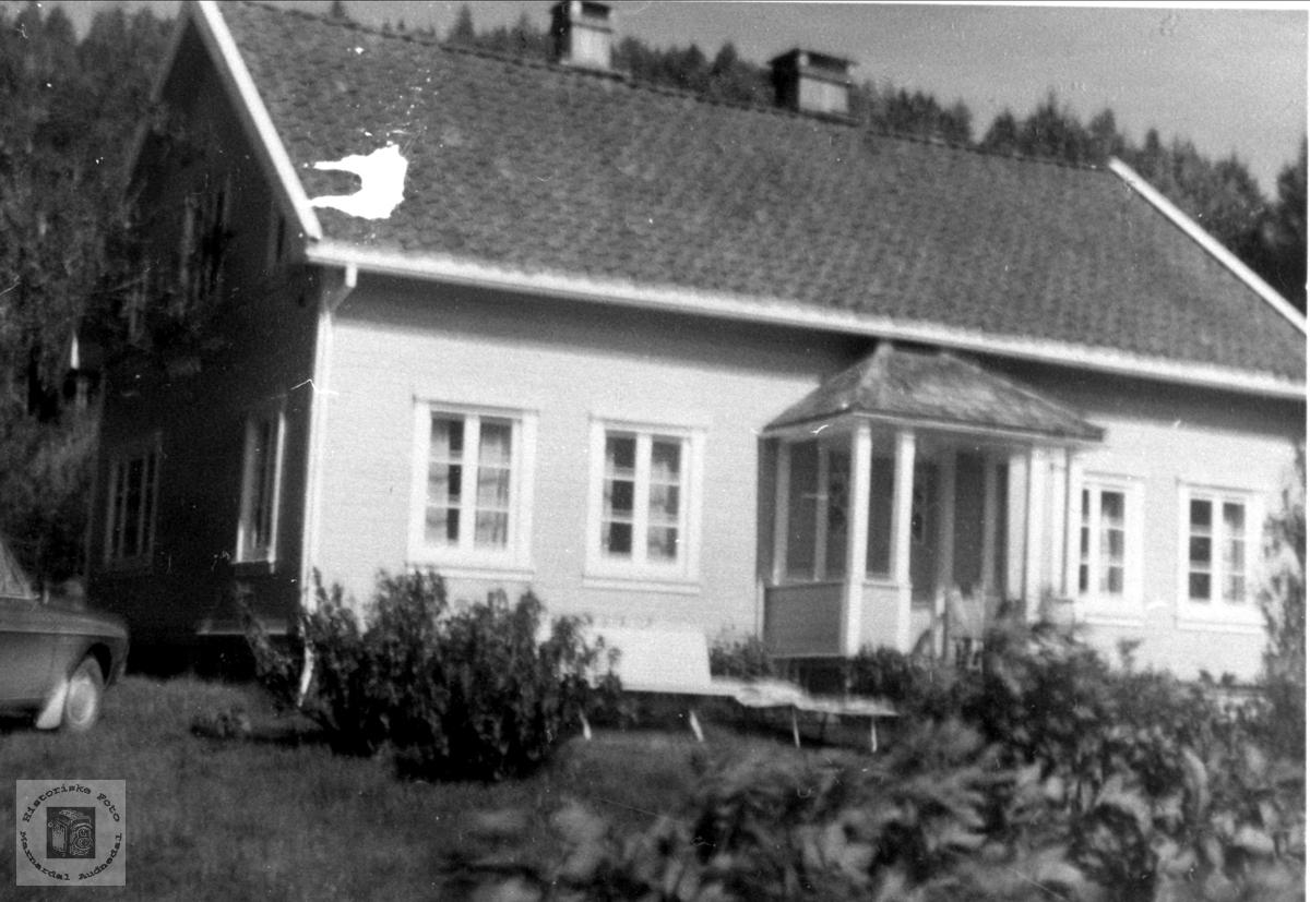 Huset på Stedjan, Bjelland.