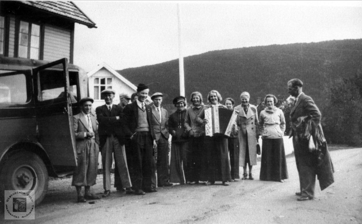 Tur med Bjellands Ungdomslag til Setesdal og Vest-Telemark.