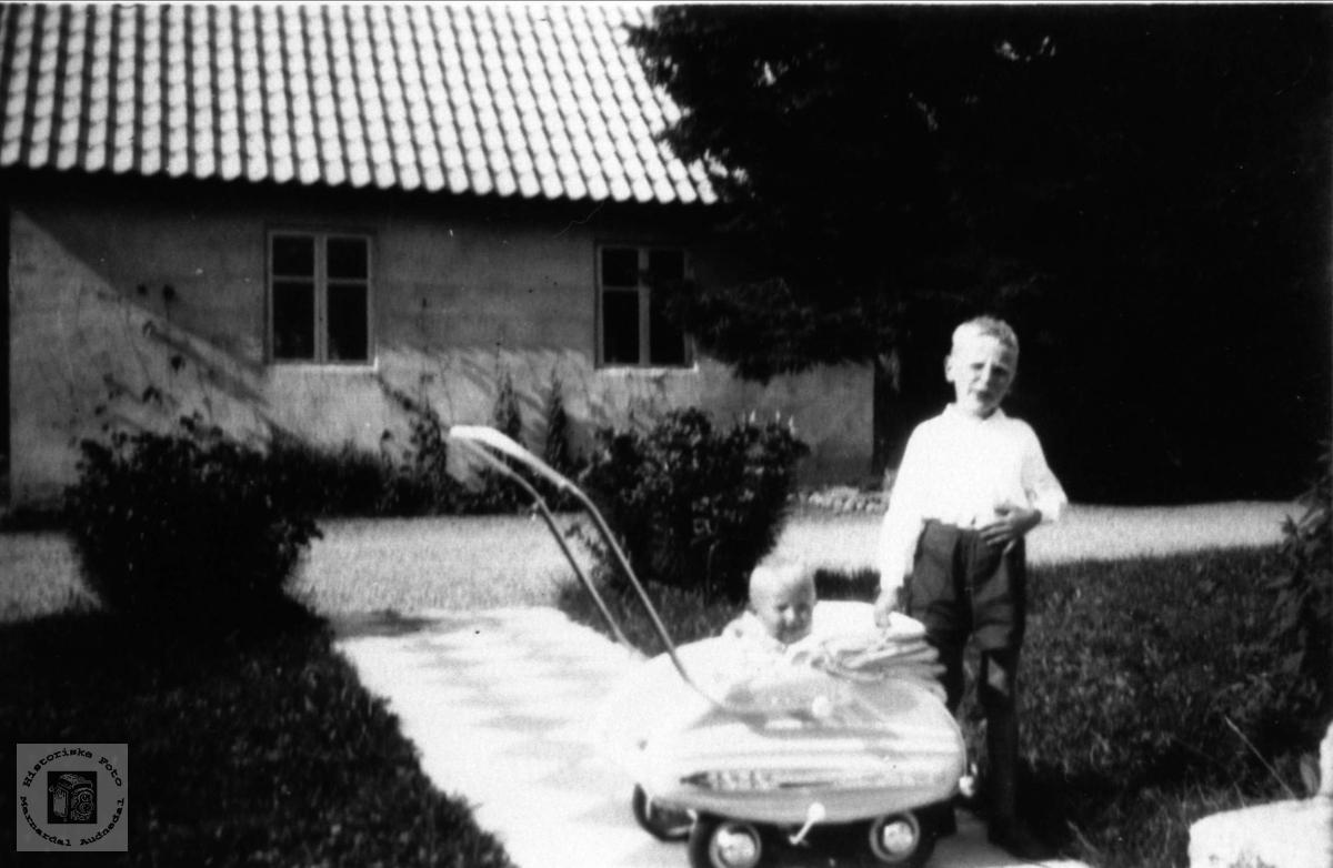 Storebror og lillebror Ugland, Laudal.