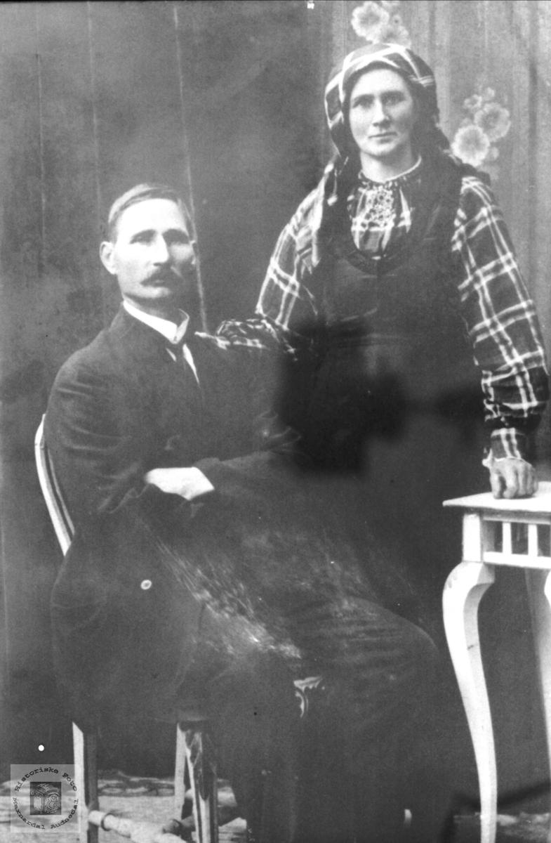 Trolig brudebilde av Kari og Knut Kaasin.
