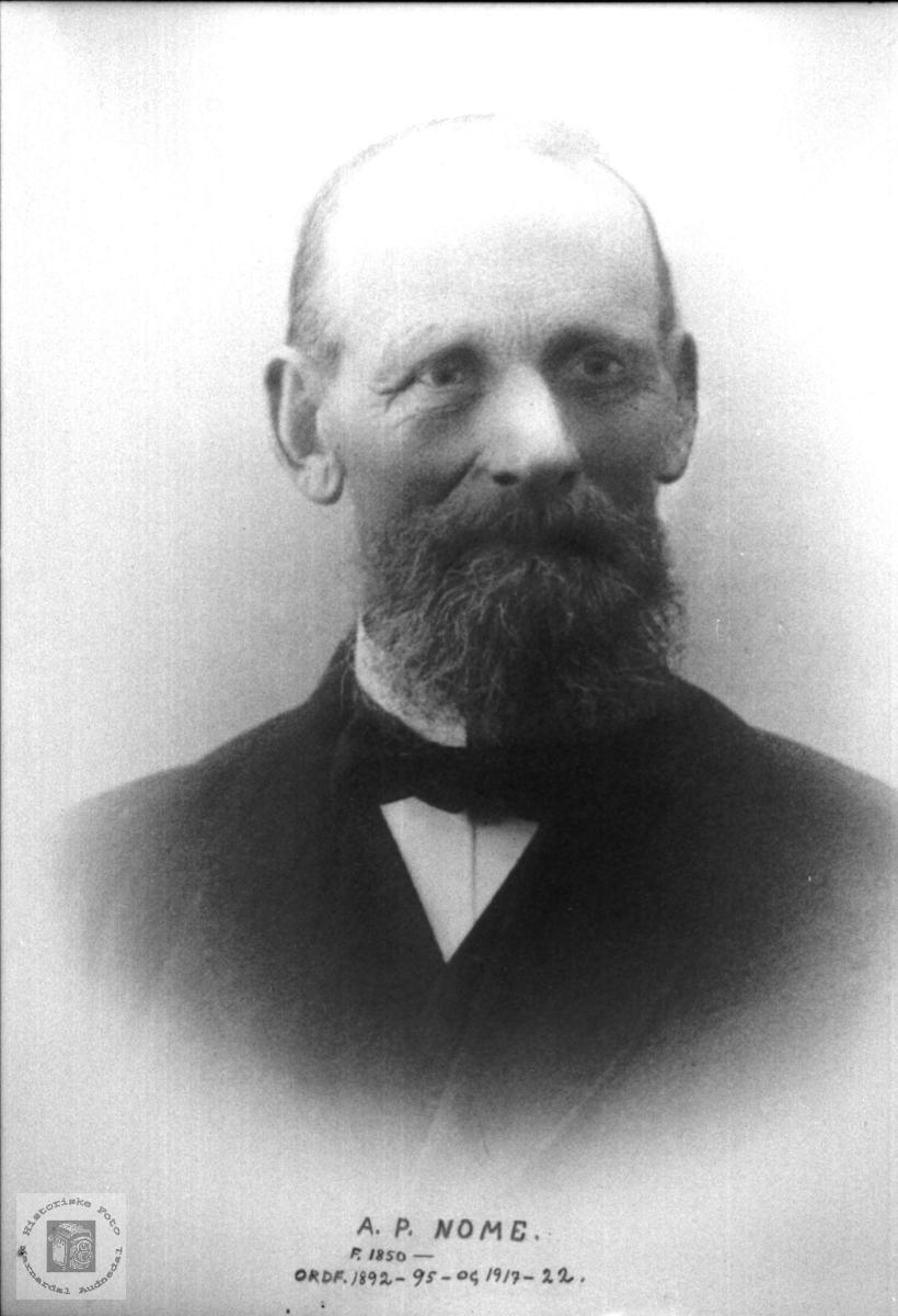 Portrett av A.P. Nome