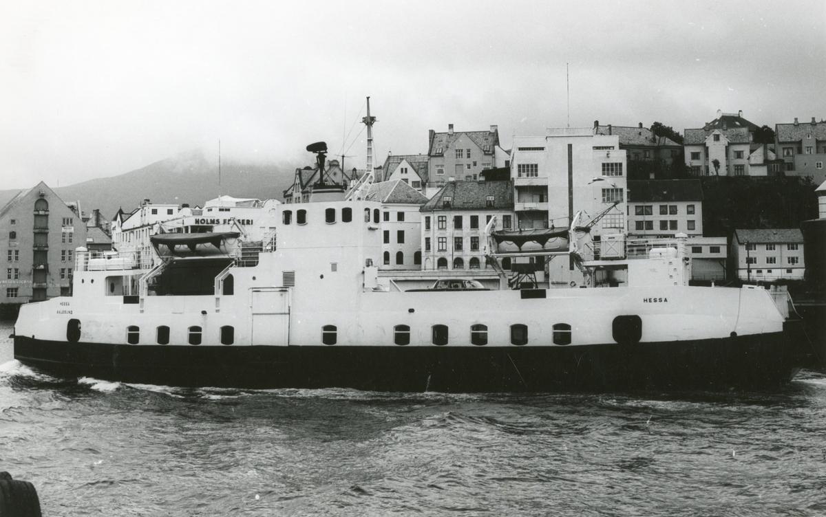 M/F 'Hessa'  (Ex. Bjørgvin)(b,1962, Løland Motorverkstad, Leirvik i Sogn)