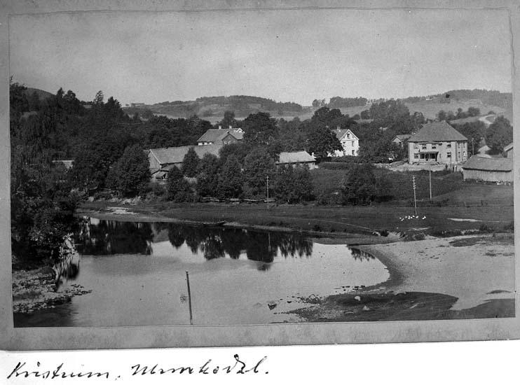 """Text på kortet: """"Kvistrum, Munkedal""""."""