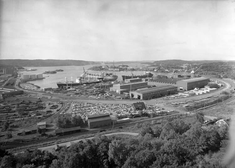 Vy mot Kasenområdet från Brattåsberget med Fosfaten i bakgrunden.