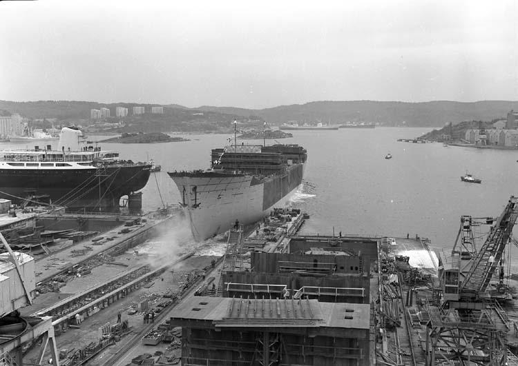 Sjösättning av fartyg nr. 183 M/T Eastern Mariner.