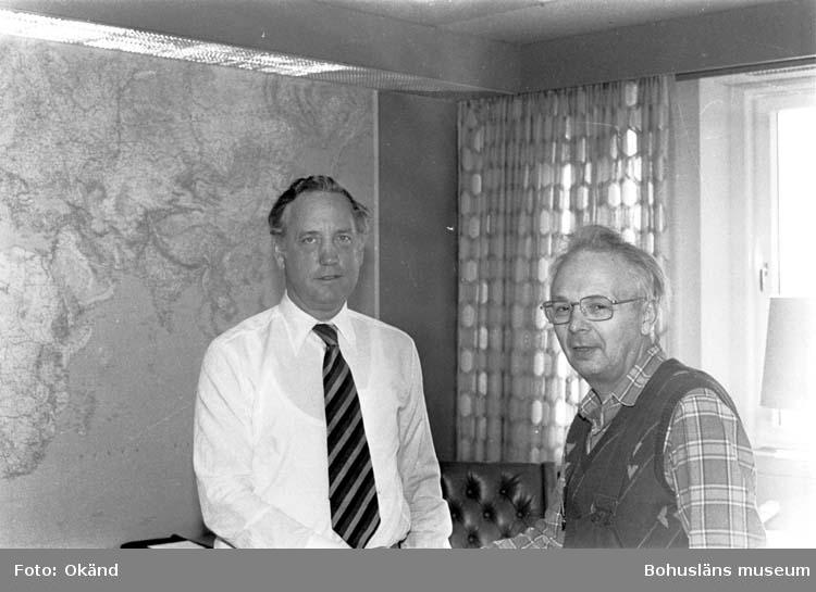 Ingvar Trogen och Gustav Henningsson.
