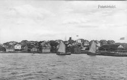 vY över Fiskebäckskil sett från Mansholmen