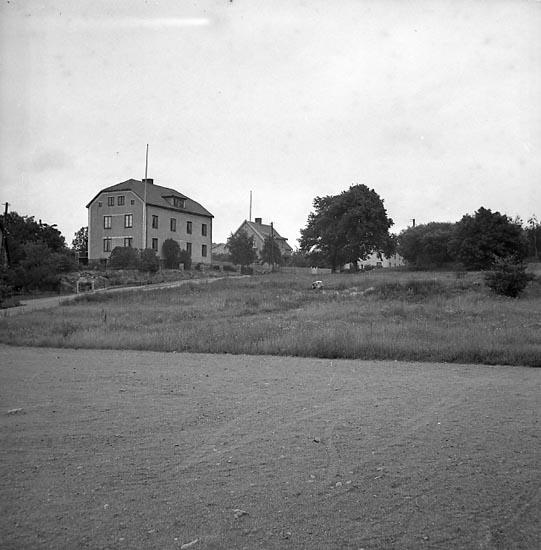 "Enligt notering: ""Lasarettet, nya Tomten, 18/6 1947"