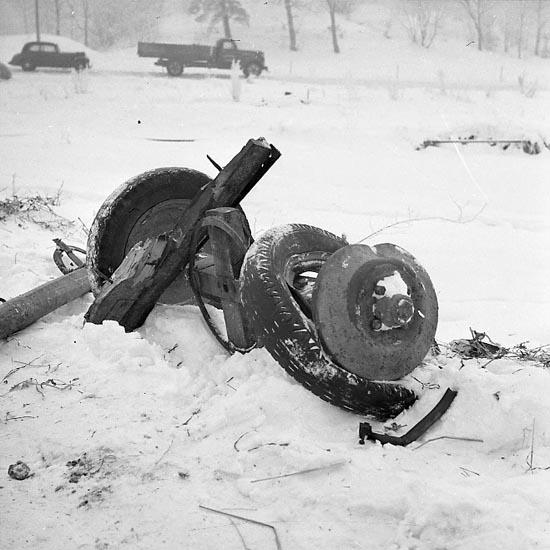 """Enligt notering: """"Olycka vid Kasen 10/1 1948""""."""