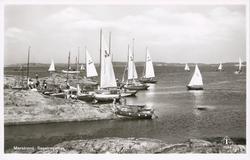 Segelbåtar vid Marstrand