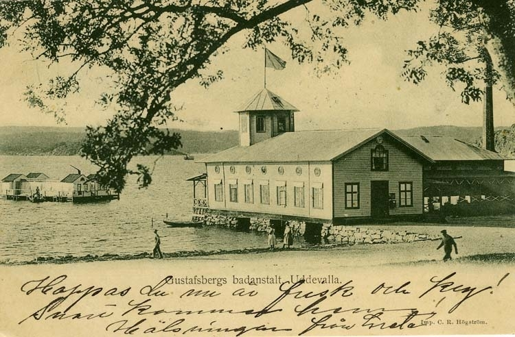 Gustafsbergs badanstalt Uddevalla.