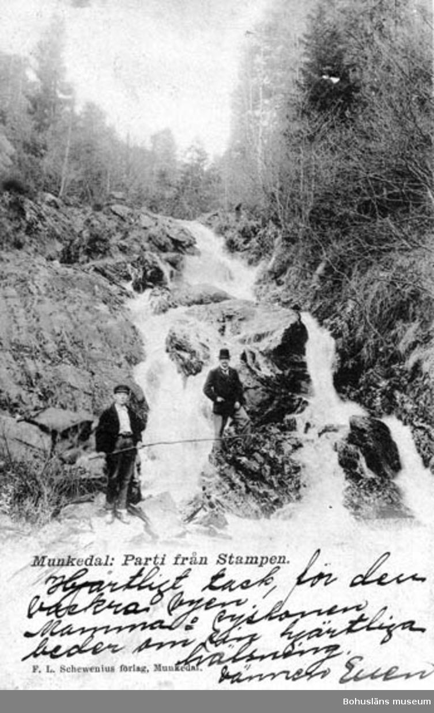 Munkedal: Parti från Stampen.