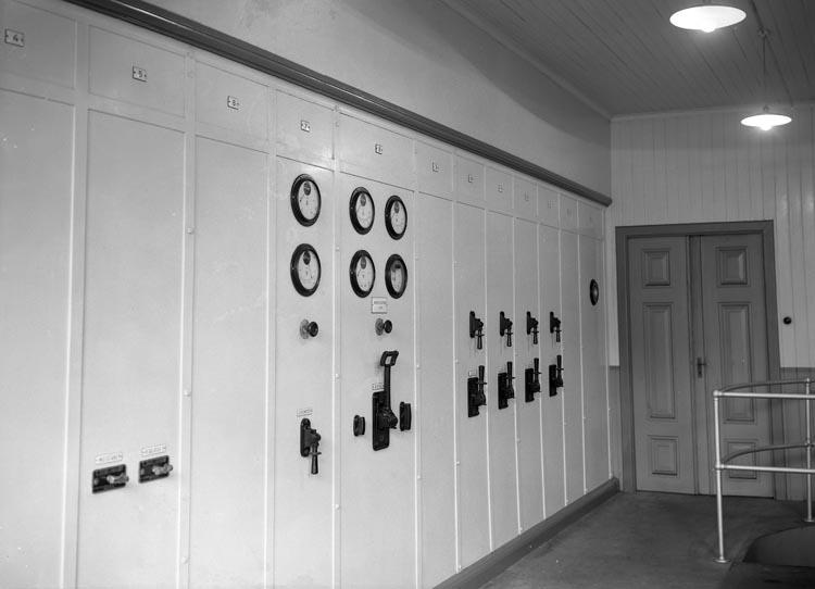 """Text som medföljde bilden: """"1915?. Kraftstationen Munkedals fabrik."""""""